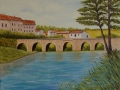 Brücke in Südfrankreich