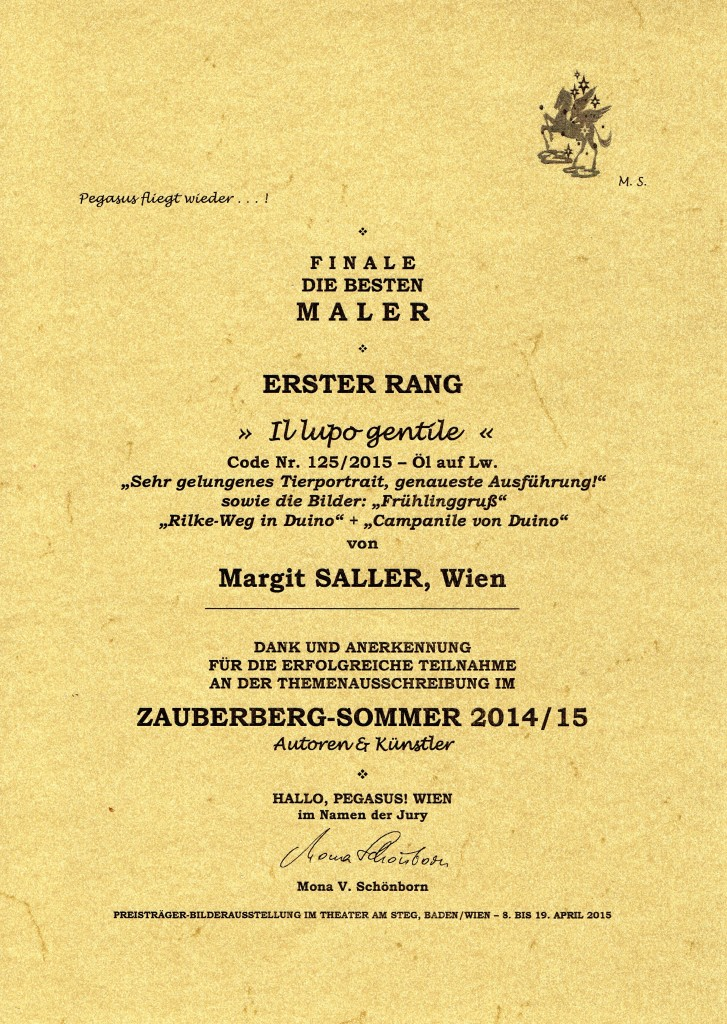 Zauberberg-Sommer 2014-15 Erster Rang